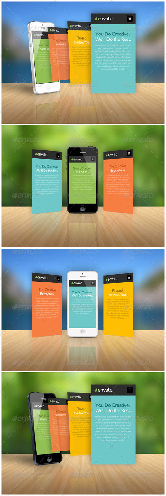 Mobile App Mockups