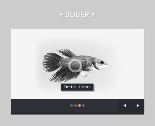 Free Download Flat Slider