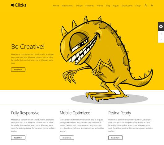 Flat Portfolio Website Templates
