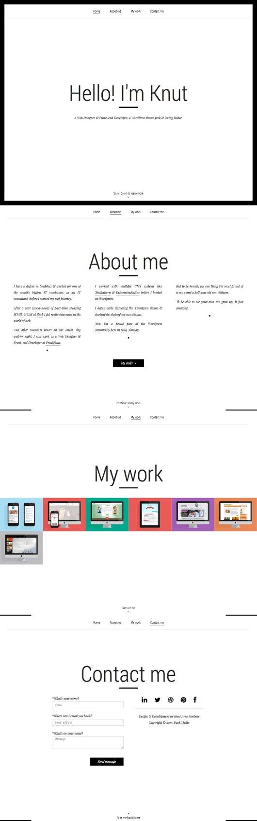 Portfolio Websites