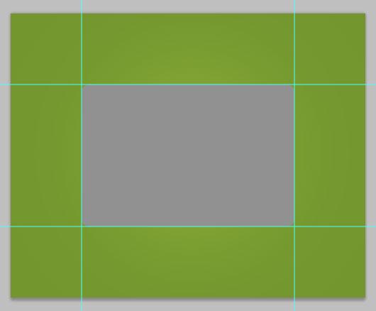 Flat vCard Photoshop Tutorial