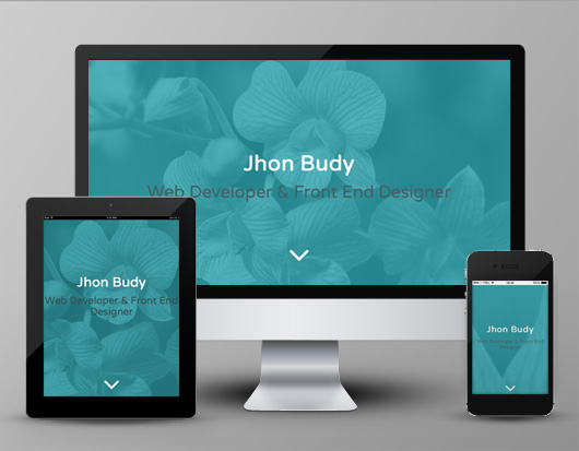 Free Single Page HTML Template