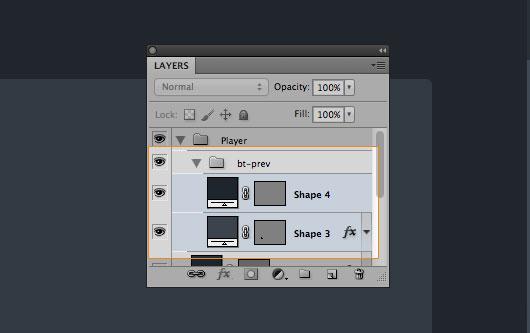 Media Player Photoshop Tutorial