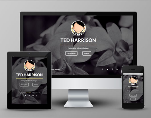 Free Single Page Template