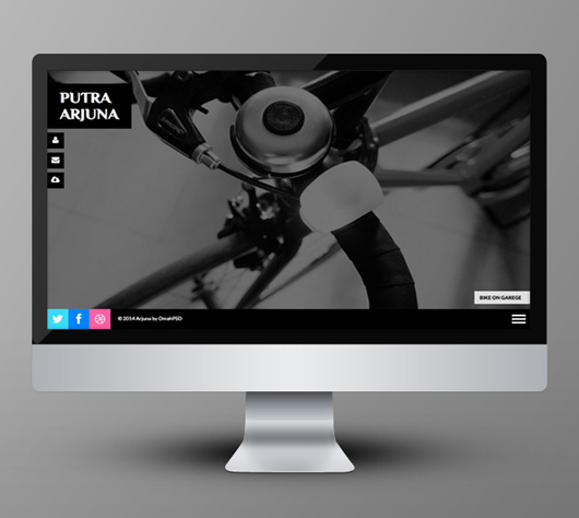 Free Single Page Photography Template