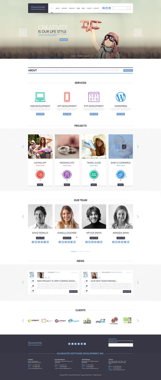 Best PSD Templates