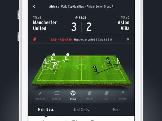 Football App Designs