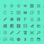 Free Line Vector Icon Set