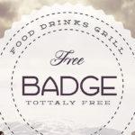 Free PSD Retro Badge