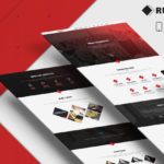 Free PSD Rubiko One Page Template