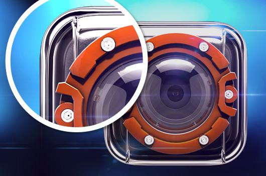 3D iOS App Icon Designs