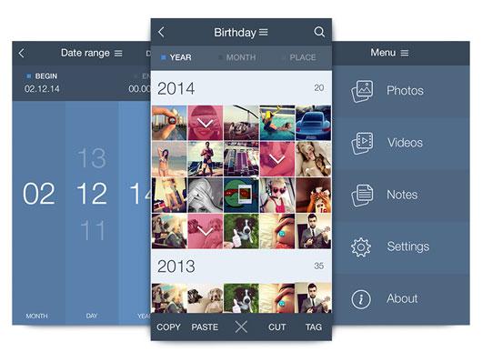 iOS App UI Designs
