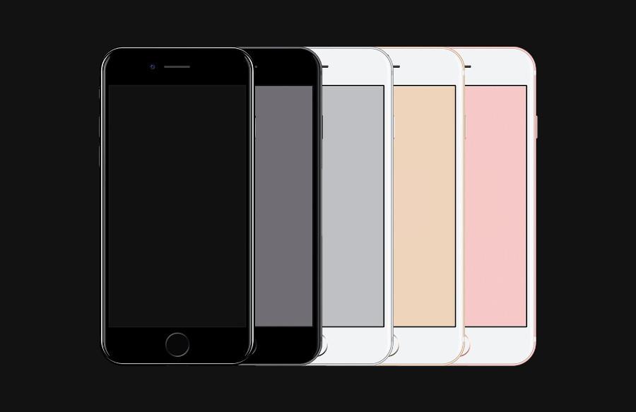 iPhone 7 Free Psd Mockup by Tony Thomas