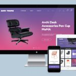Arvi PSD Website Template