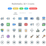 Multimedia – Pioneer Icons