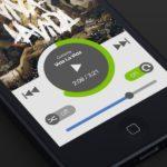Spotify Flat UI