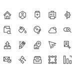 Icons For Web (AI, PSD)