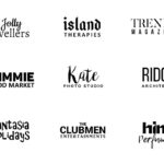18 Free Minimal Logo Templates (PSD)