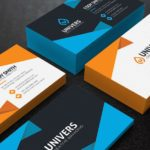 Free Business Card Template: Alexa 6 Colors