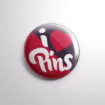 Button Badge Pin PSD Mockup