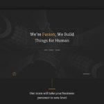 Fusion Portfolio Template (PSD)