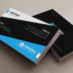 Free Corporate Business Card Template (Vertical & Horizontal)