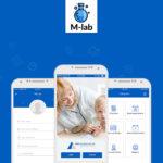 M-Lab Medical Mobile App Design