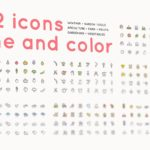 112 icons /farm/gardening/apiculture (Limited Time!)