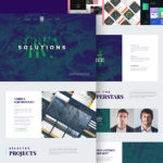 Agency Landing Page PSD Template