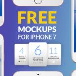 Free iPhones 7 Mockups