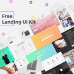 Free Landing UI Kit (PSD)