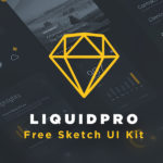 LiquidPro UI Kit (Sketch)