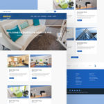 Real Estate Website Template (PSD)