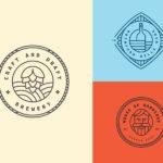3 Vintage Logo Templates (PSD, AI)