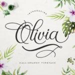 Free Olivia Font Script