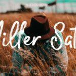 Miller Salt – Handwritten Font DUO