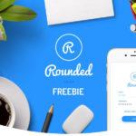 Round Mobile UI Kit Free Demo (Sketch)