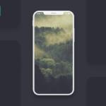 Free iPhone X Screen Mockup (PSD)