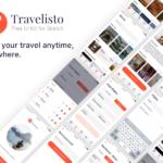 Travelisto UI Kit (Sketch)
