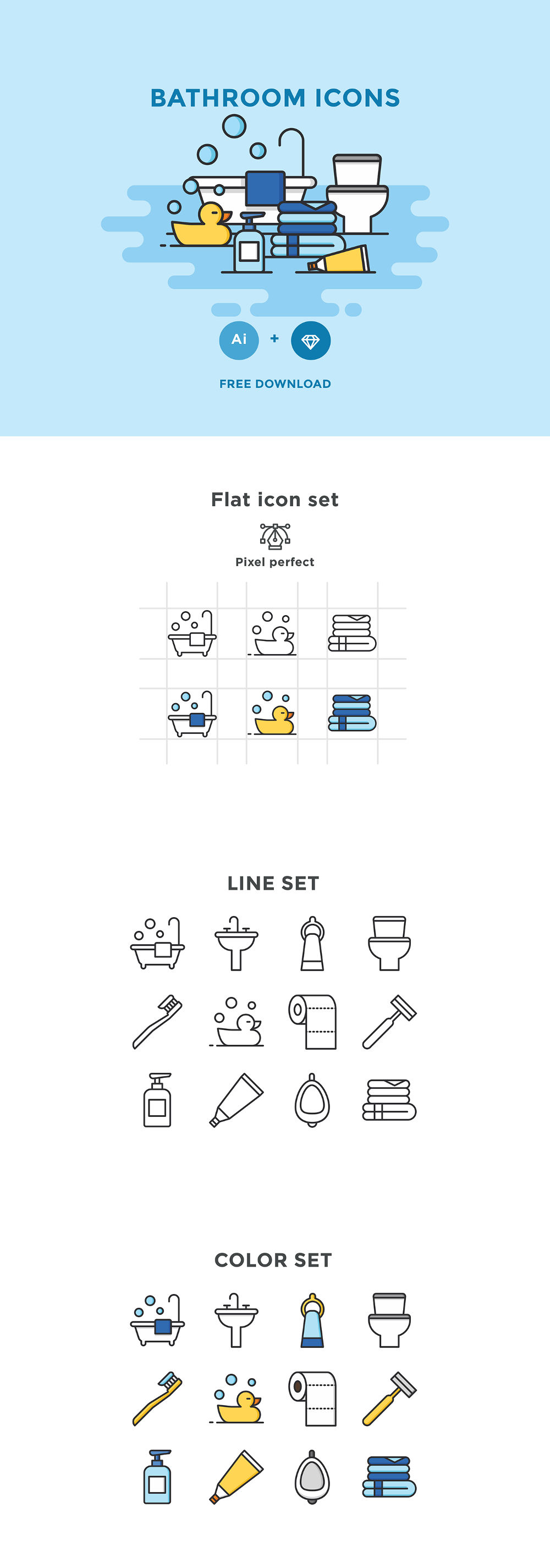 Free Bathroom Icons