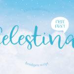 Free Celestina Handwritten Fonts