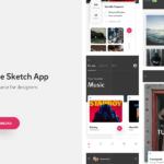 Cherise – Free UI Kit (Sketch)