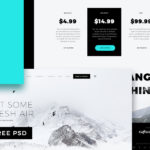 Fjord Landing Page (PSD)