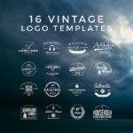 Free 16 Vintage Logos (AI, EPS, PSD)