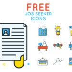 Free Job Seeker Icons (40 Icons, AI, SVG, EPS, PNG)