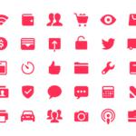 iOS 11 Glyphs (200 Icons)