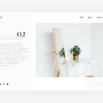 Minimal Website Concept (.Sketch)