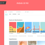 Airbnb Web Sketch UI Kit