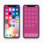 iPhone X – Mockup (fit 2436 x 1125 pixel resolution)