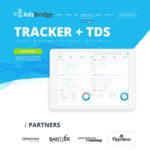 AdsBridge Free Landing Page PSD